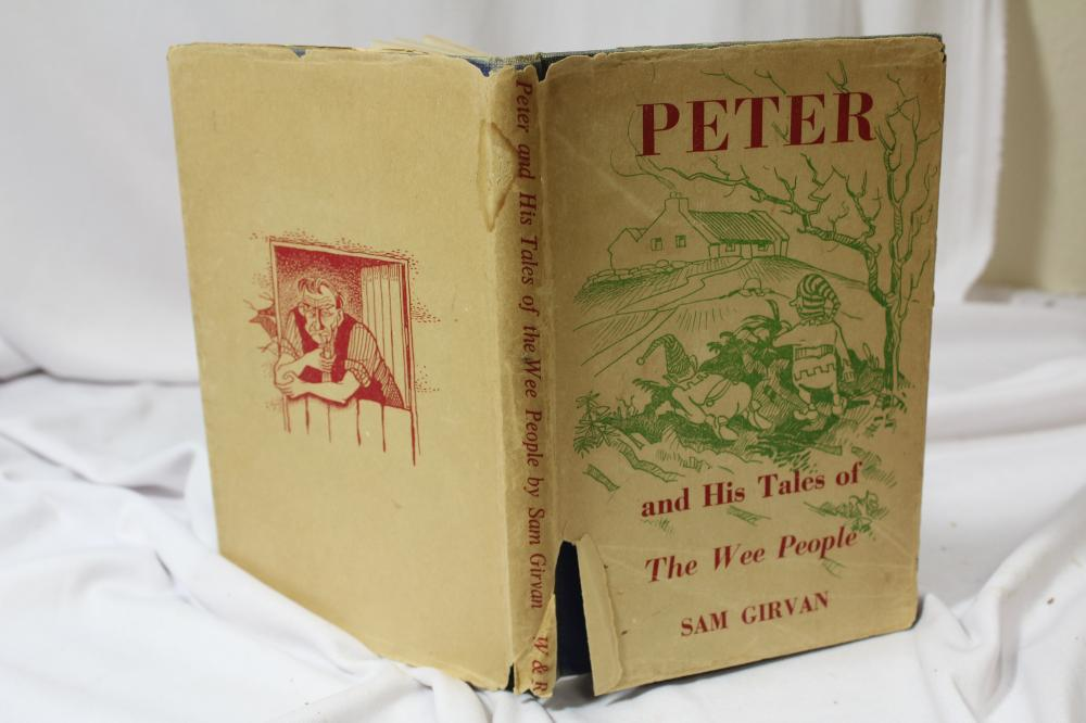 Peter, and His Tales of the Wee People - Hardcover Book