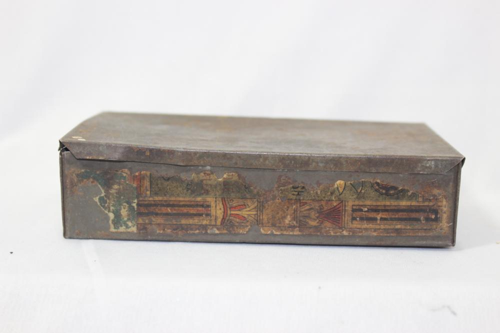 An Antique Tin Box