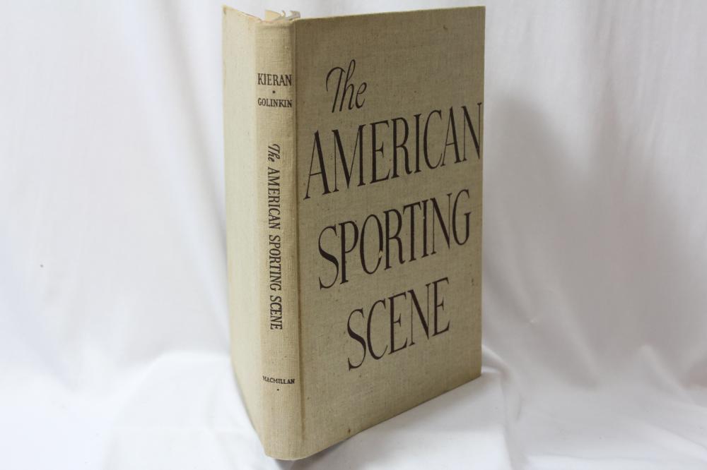 The American Sporting Scene - Hardcover Book