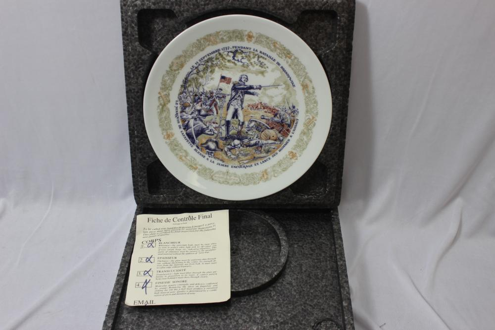 Limoge Collector's Plate