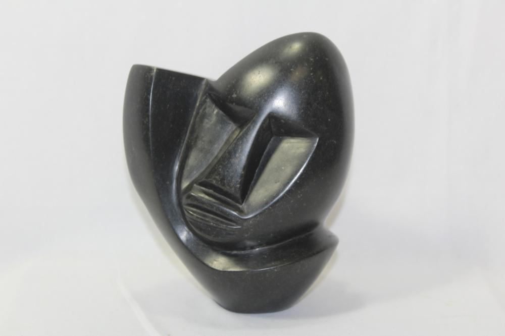 A Heavy Soapstone Bust