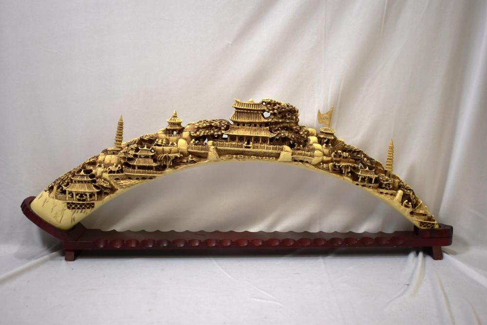 A Well Carved Resin Bridge