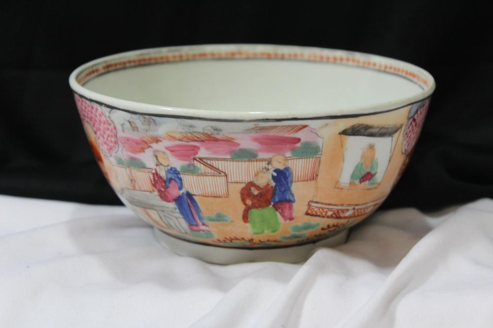 A Rare Chinese Export Bowl