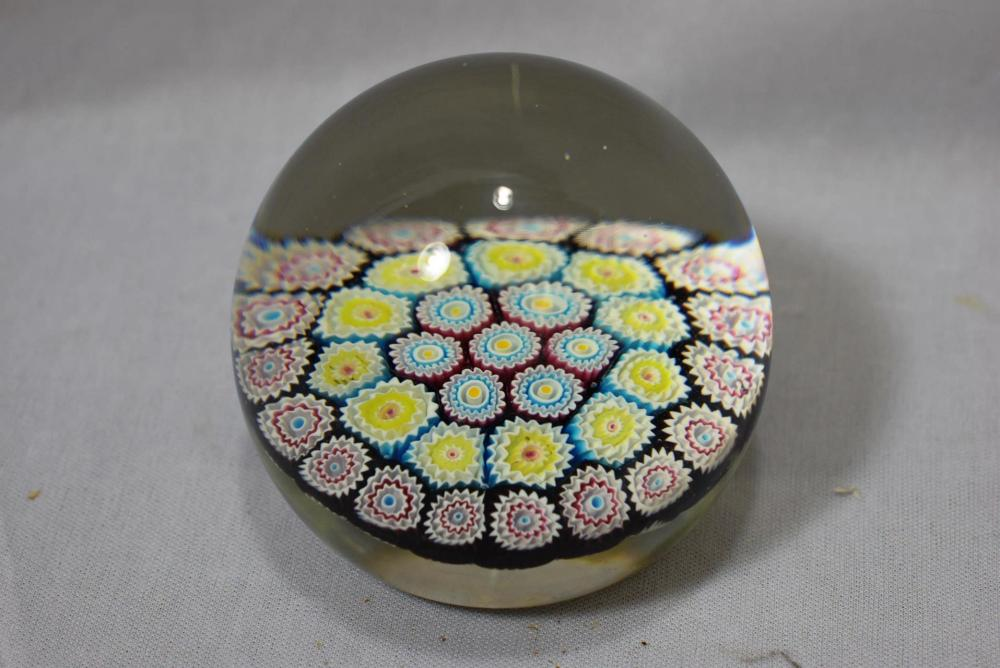 A Rare Salviati and Company Art Glass Paperweight