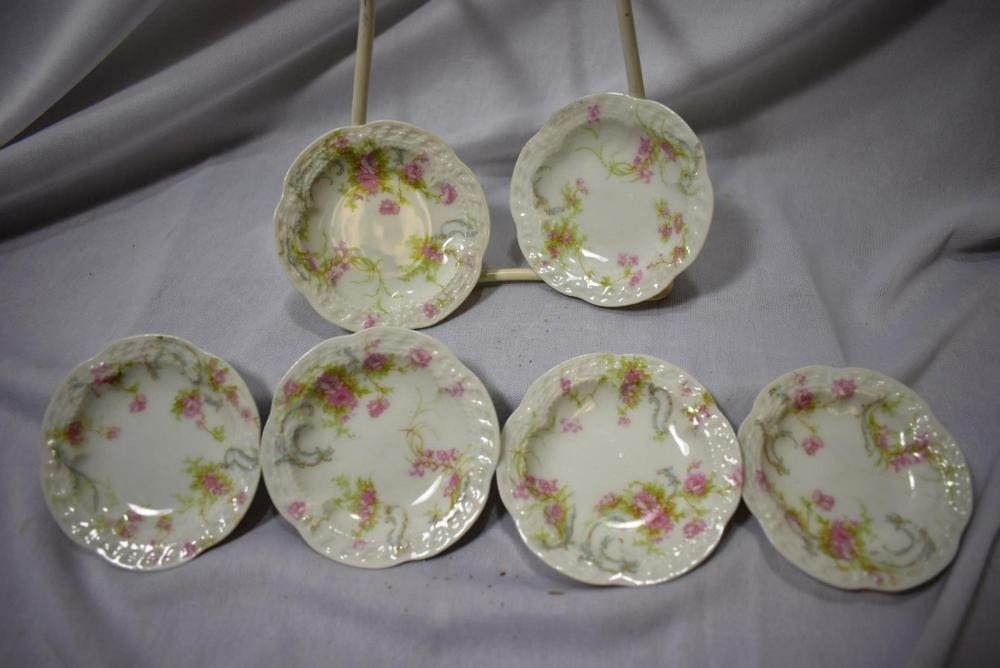 Set of 6 Limoge Sauce Dishes