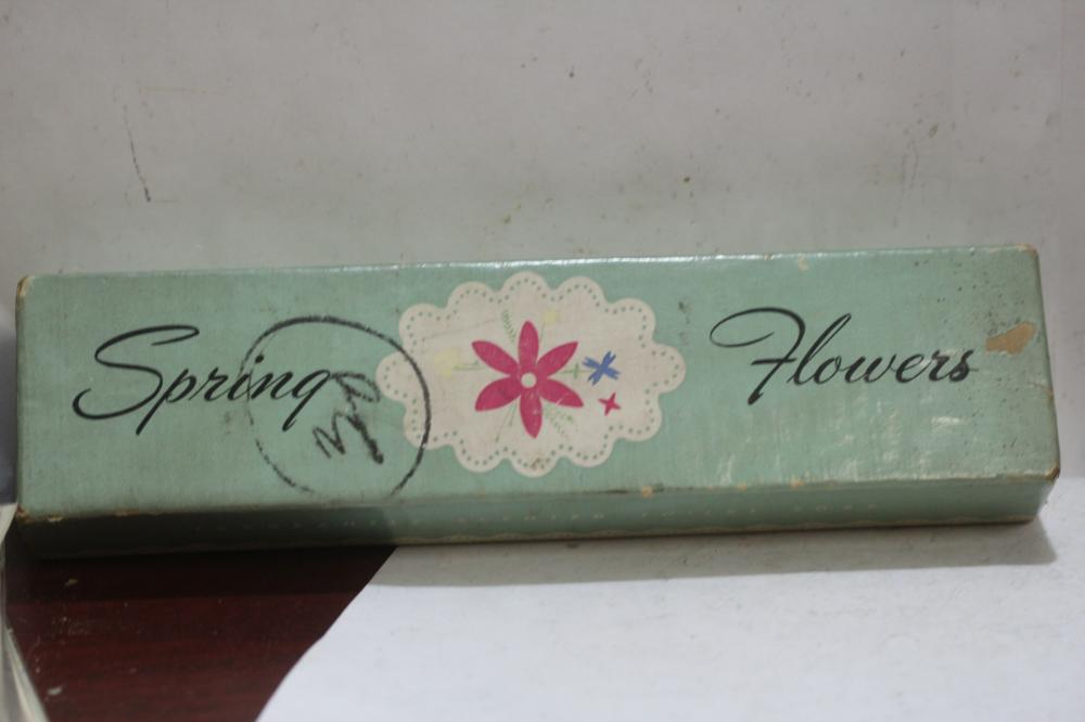 Lot of 3 Spring Flowers Soap Bars