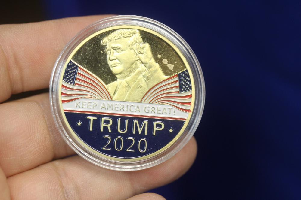 A President Donald J Trump Commemorative Coin