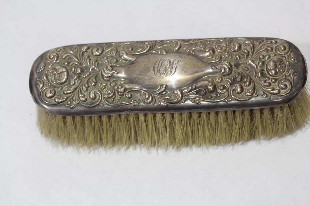 An Ornate Sterling Brush