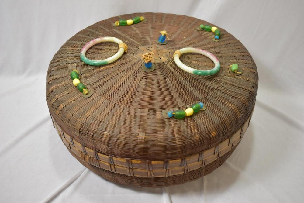 A Chinese Sewing Basket
