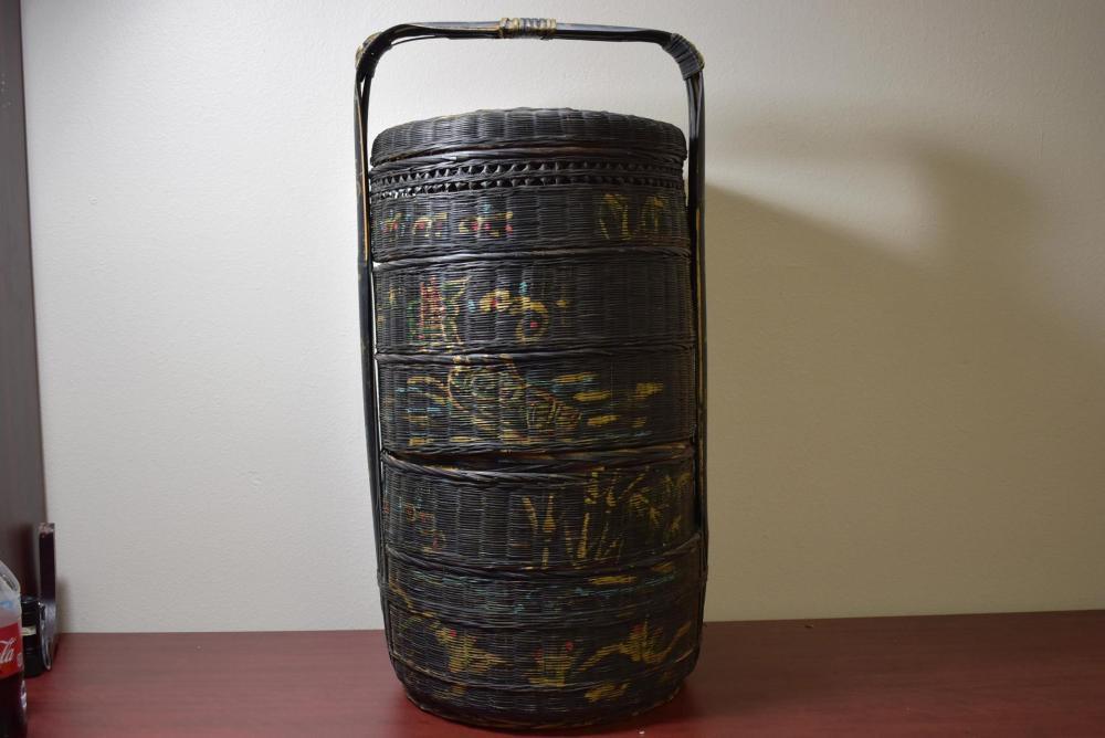 A Vintage Chinese Food Basket