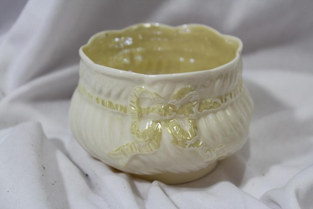 A Small Belleek Bowl