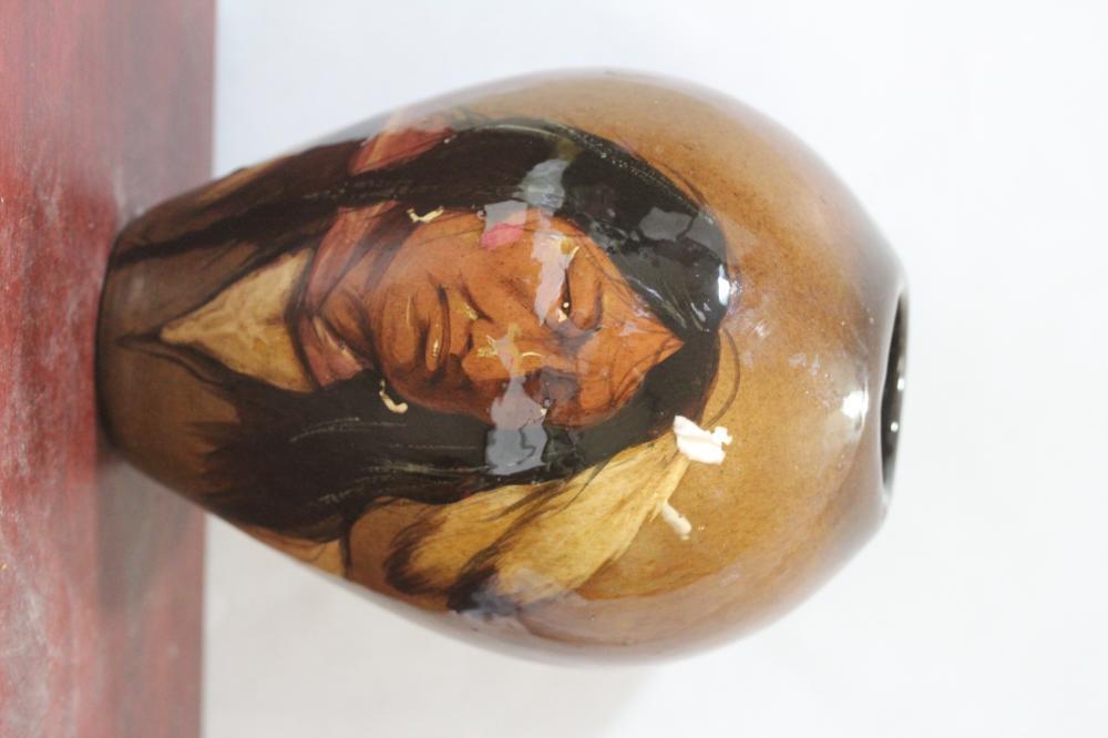 Wise Carver Art Pottery Indian Vase