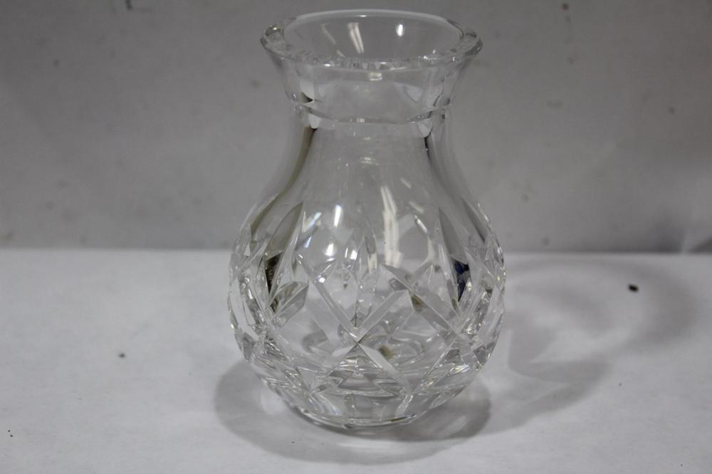 A Small Waterford Vase