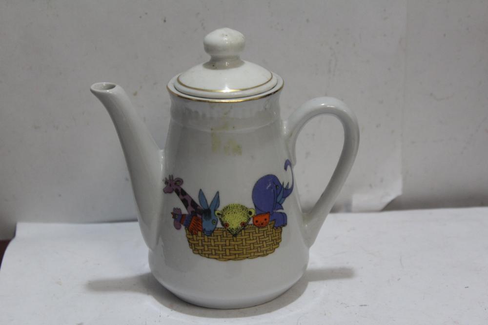A Vintage Porcelain Teapot