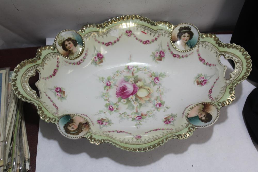 A German R.S. Prussia Portrait Bowl