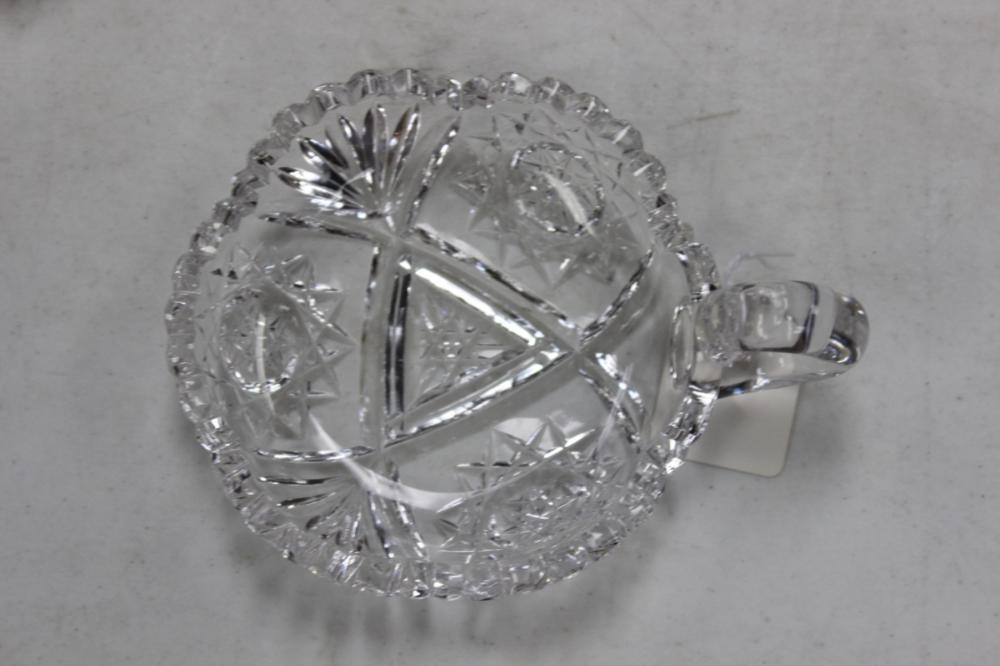 An ABP ( American Brilliant Period ) Cut Glass Nappie