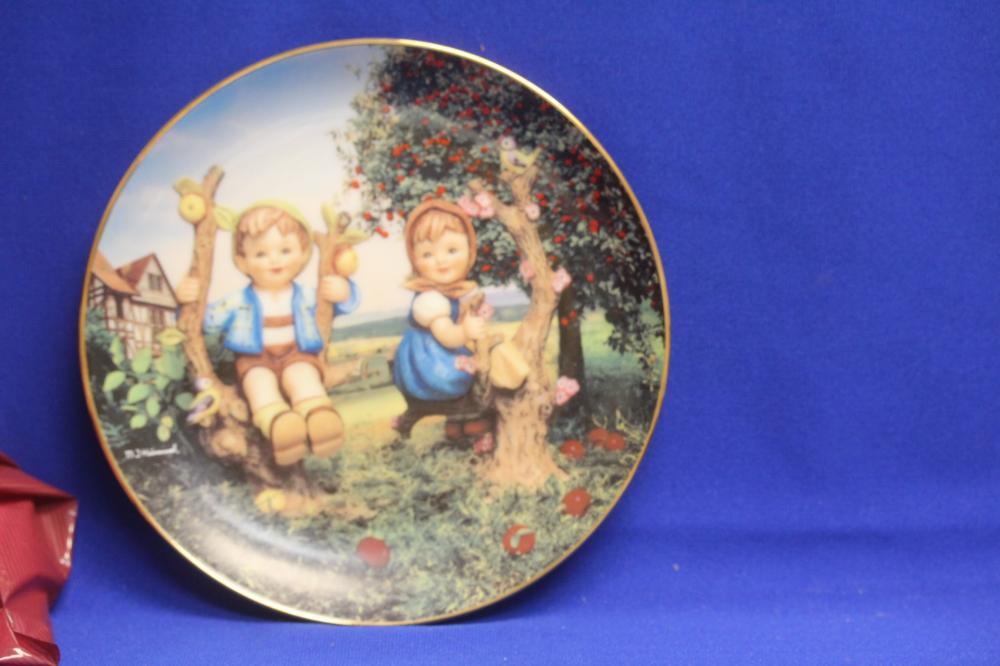 A Hummel Collector's Plate