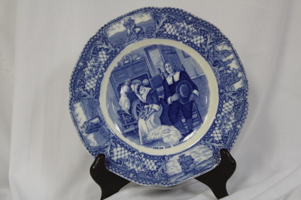 A Crown Ducal Porcelain Plate
