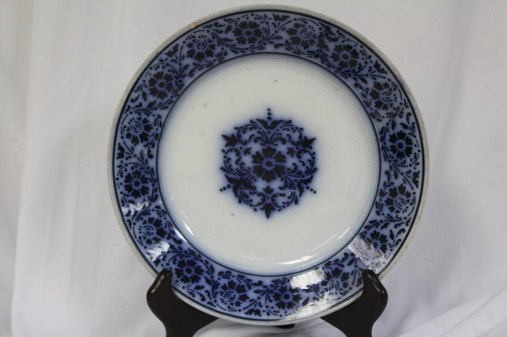A Flow Blue Plate
