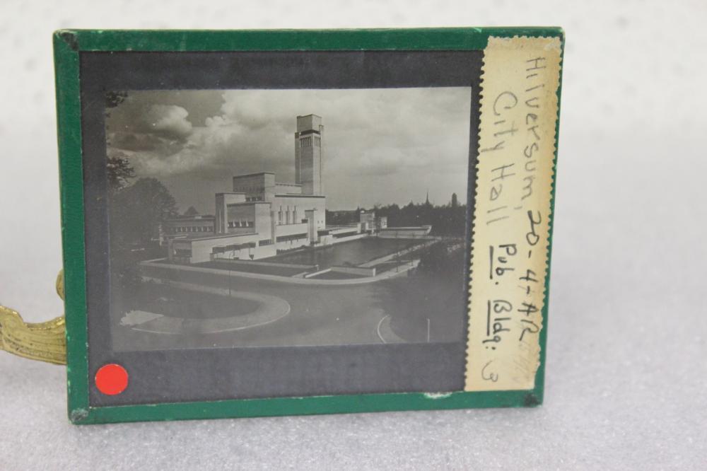 A Vintage Glass Slide Negative