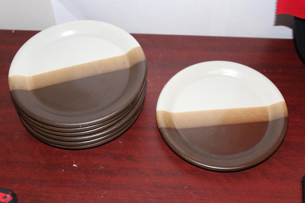 Set of 7 McCoy Pottery Plates