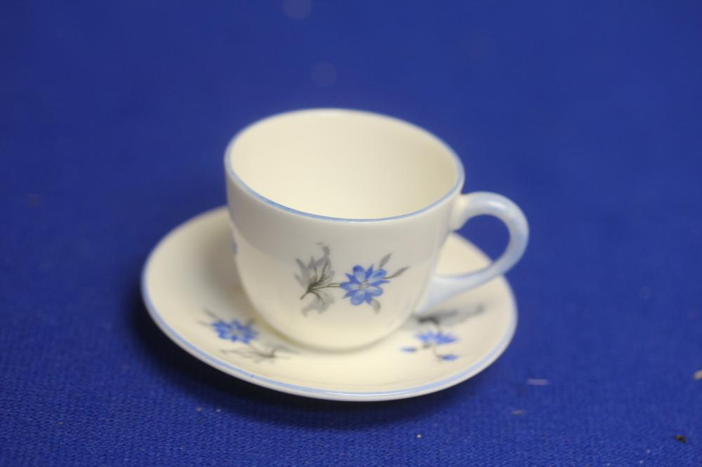 A Miniature Shelley Cup and Saucer