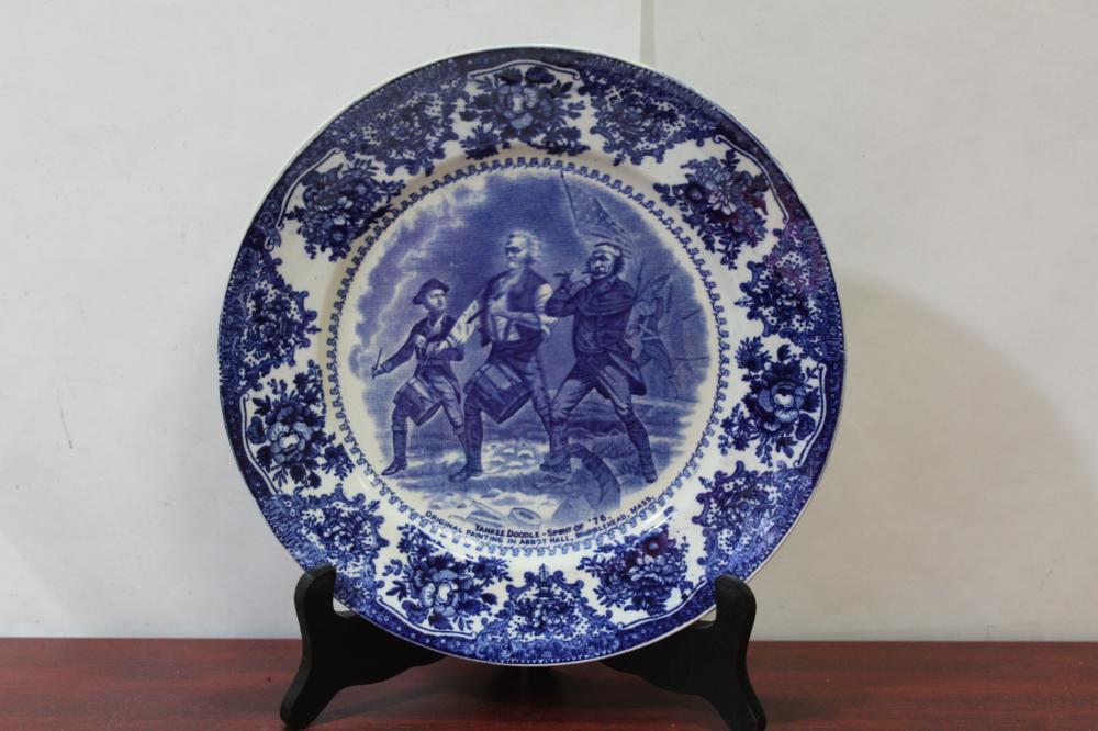 A Jonroth Flow Blue Plate