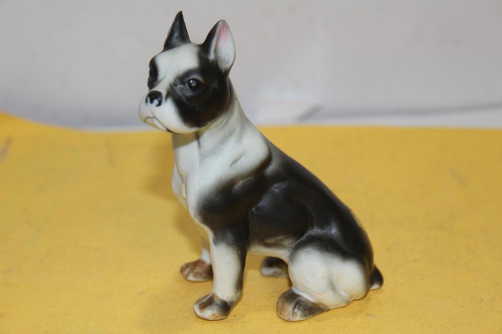 A Bone China Pug Dog