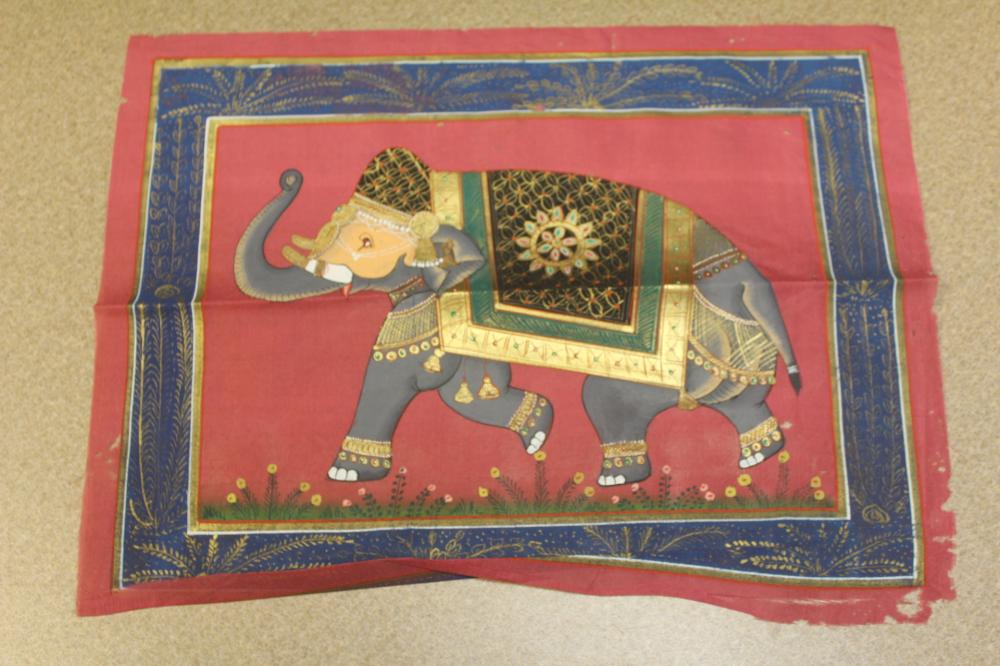 Hand Painted Indian Pastel