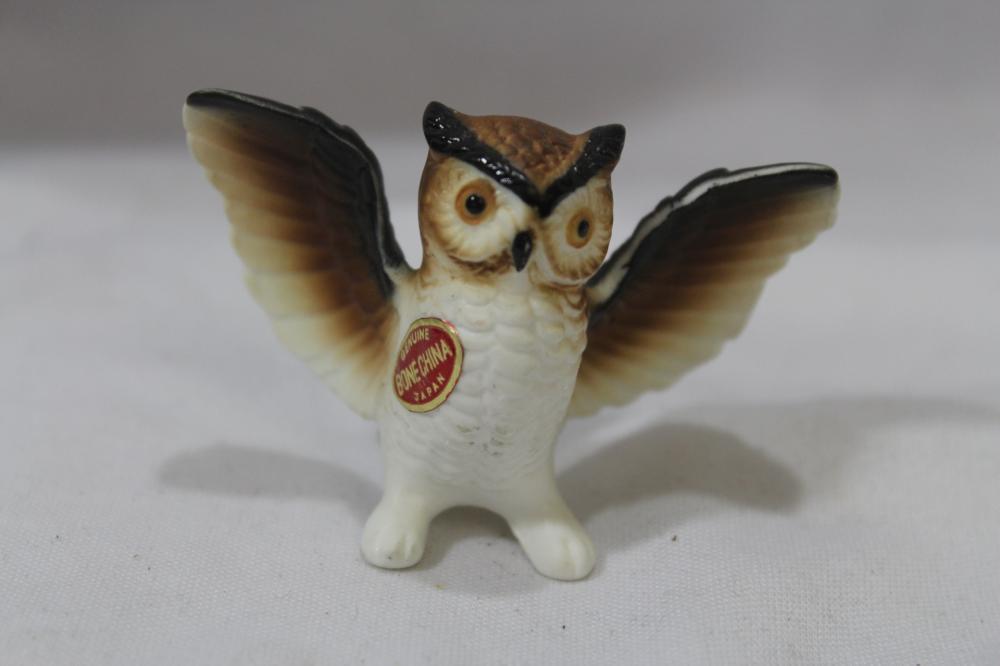 A Bone China Owl