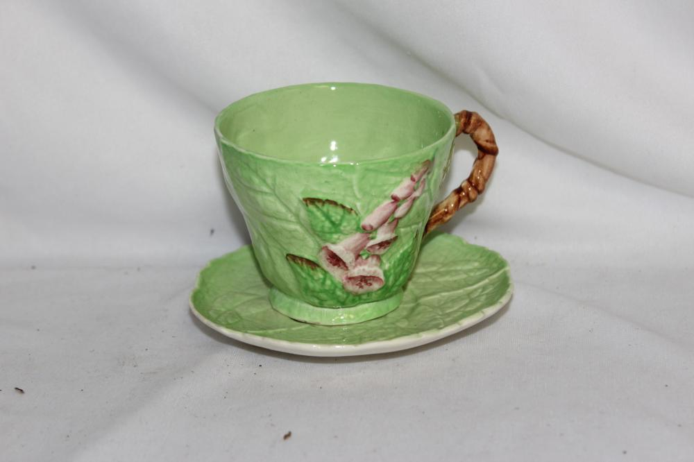 A Carltonware Cup and Saucer