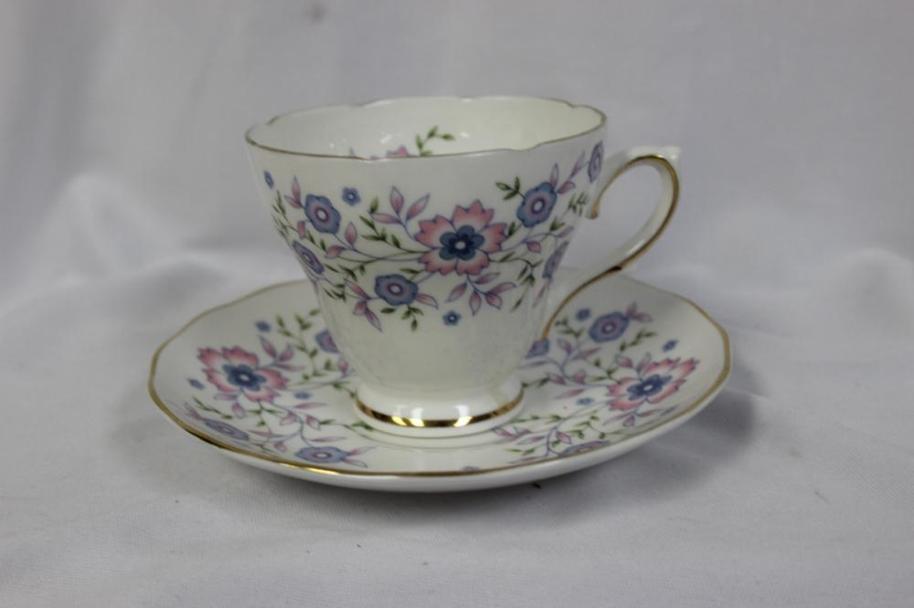 A Fine Bone China Cup and Saucer