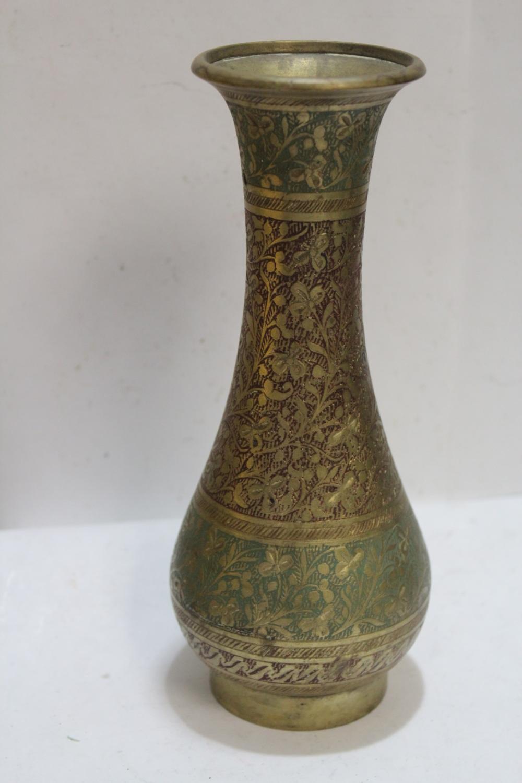 A Vintage Indian Brass Vase
