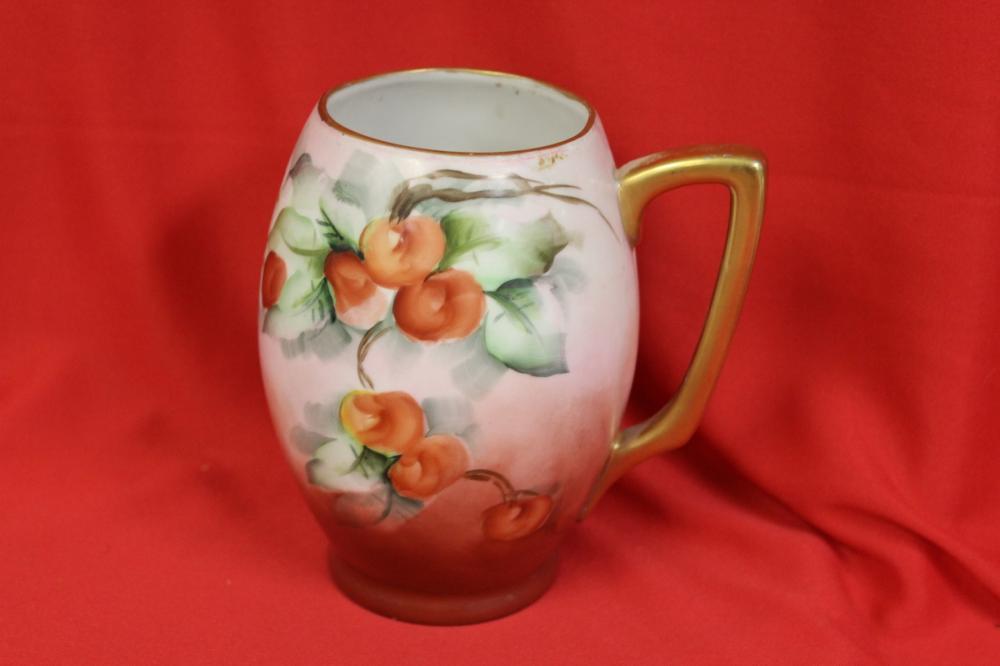 A Signed Porcelain Cup
