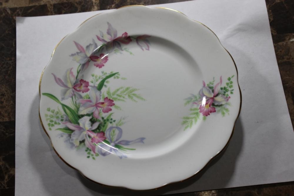 A Sweet Romance Porcelain Plate