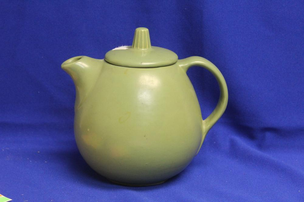 A Hull Pottery Teapot