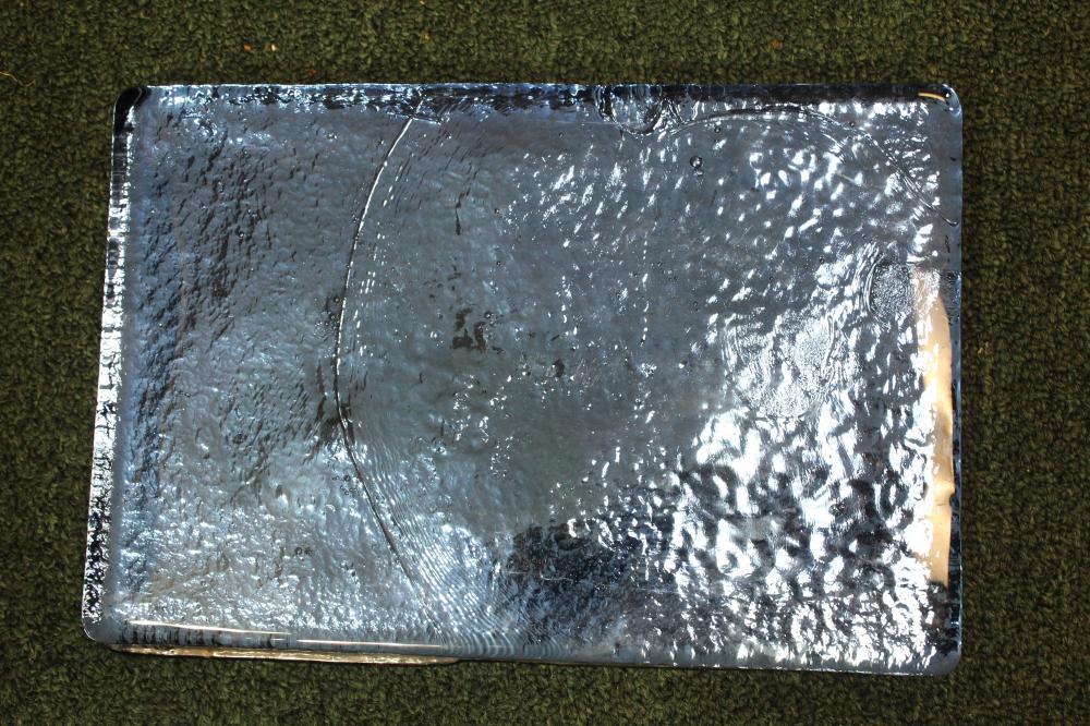 A Blenko Glass Brick