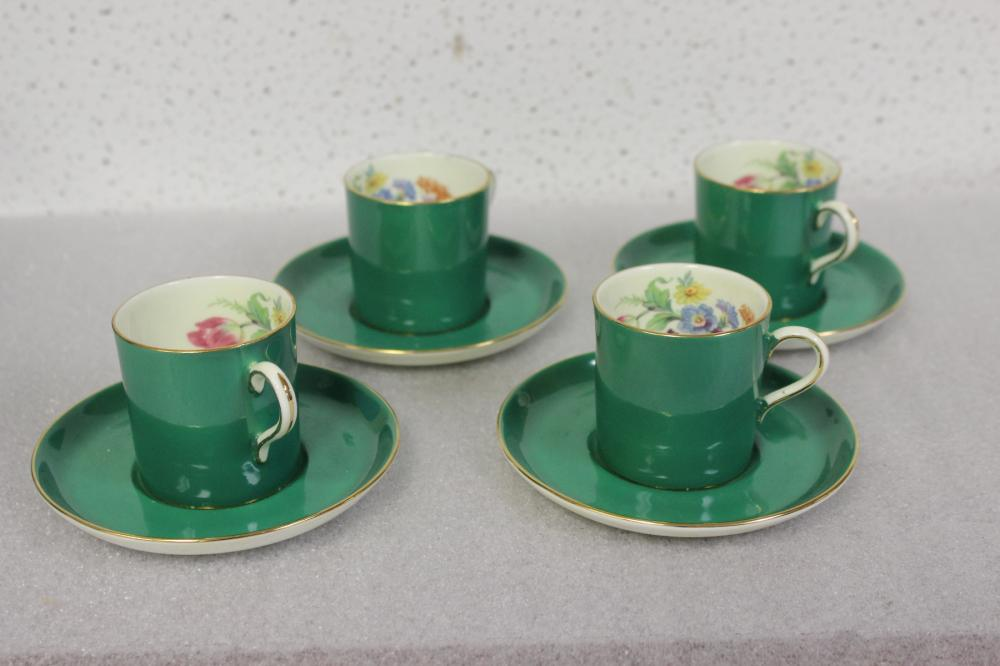 An Anysley Bone China Cup and Saucer