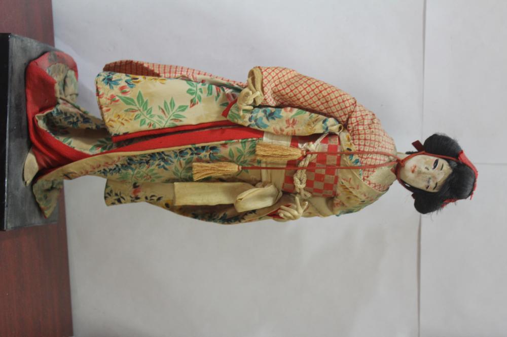 An Old Geisha Doll