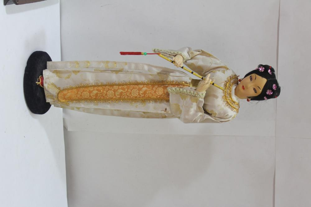 A Vintage Chinese Doll