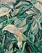 GRACE COSSINGTON SMITH   Lillies, Grace Cossington Smith, Click for value