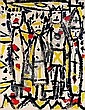 Art Work by: DAVID LARWILL Ubu Roi 1986, David Larwill, Click for value