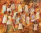 Art Work by: DOROTHY BRAUND Dancing Lesson 1979, Dorothy Mary Braund, Click for value