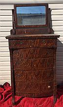 Tiger Oak Dresser, Antique