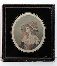 Ward after Smith XVIII-XIX Hand Coloured mezzotint
