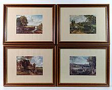 After John Constable (1776-1837) Four coloured