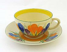 Clarice Cliff : A Mid 20thC hand painted Clarice