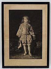 J R Dicksee (1817-1905) Pencil signed Monochrome e