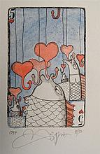 Yurly (Yuri) Nozdrin (b.1949) Russian Lithuanian, Hand embellished limited