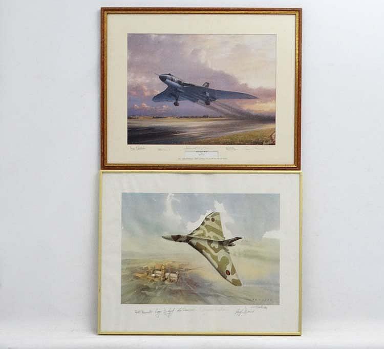 Militaria : After Barry G Price ( XX ) ' RAF Vulcan Mk B2